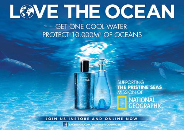 Perfumes solidarios con el mar