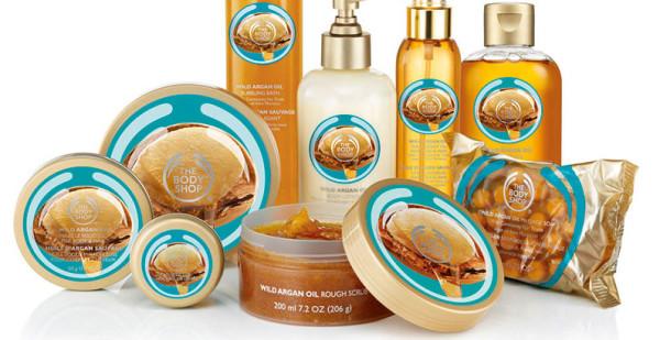The Body Shop: comercio justo de Argán