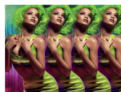 Rihanna y Viva glam