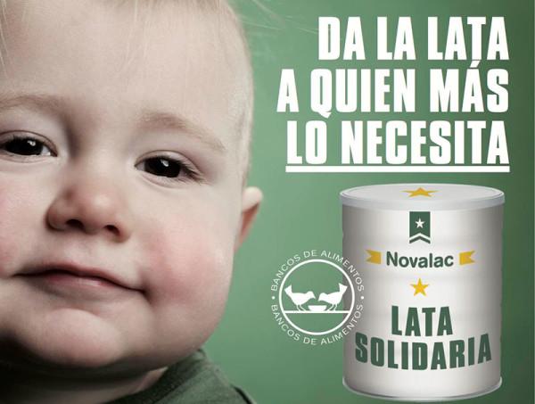 Novalac da la lata a quien más lo necesita