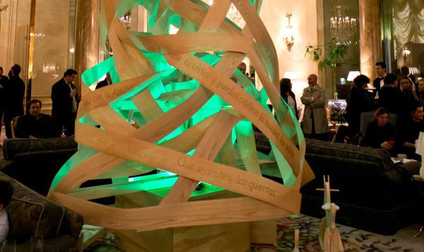 El especial árbol del Ritz  de la Fundación Amanecer