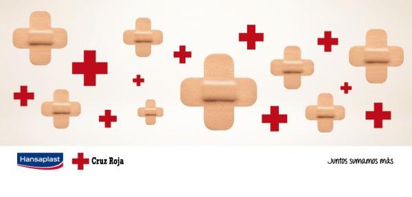 Hansaplast y Cruz Roja