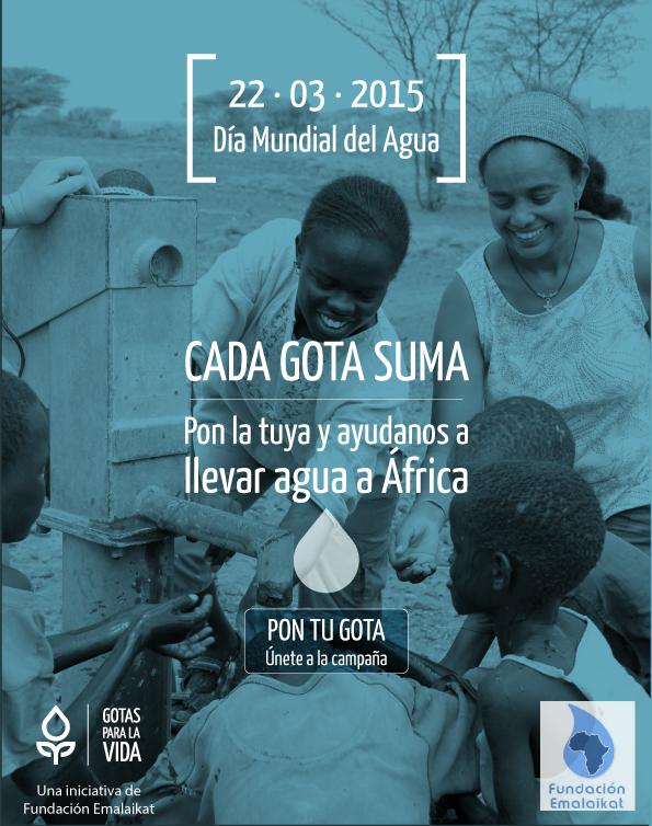 GOTAS-1 día mundial del agua