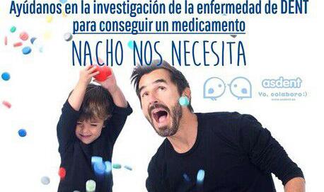 Enfermedad de Dent. Nuestro apoyo a Nacho