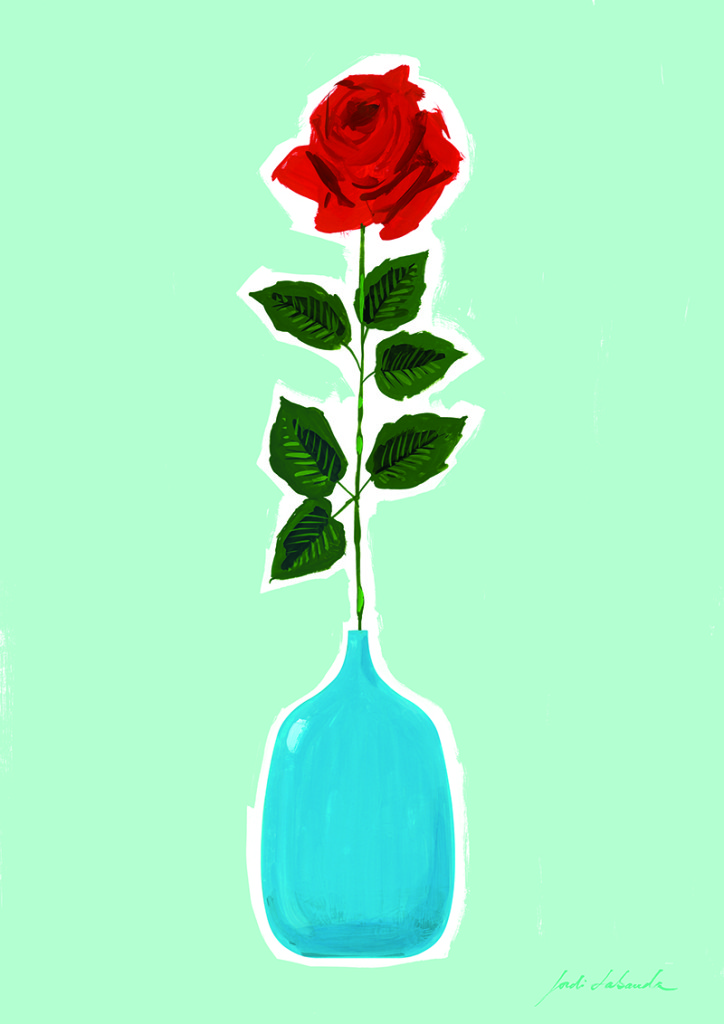 La Rosa Solidaria de Jordi Labanda