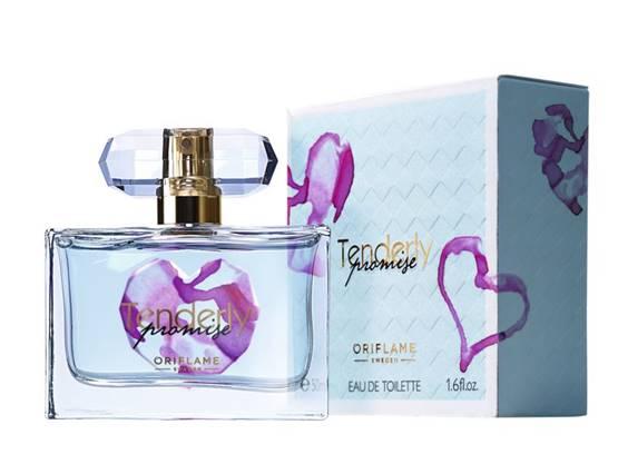 Tenderly Promise, el perfume solidario de Oriflame