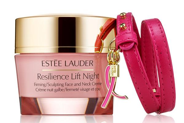 13 productos Estée Lauder contra el cáncer de mama