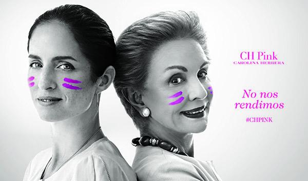 Carolina Herrera: en pie de guerra contra el cáncer