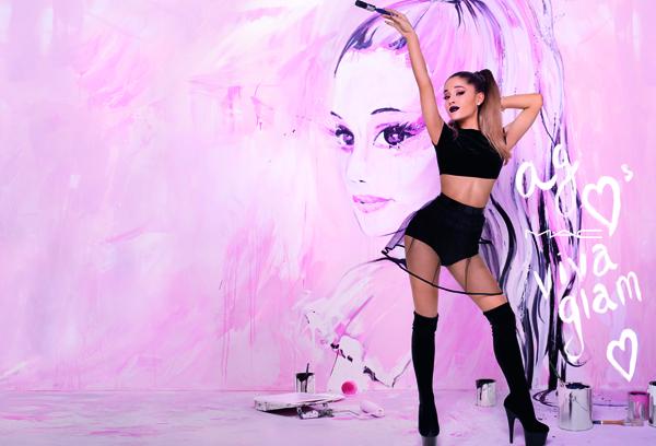 Ariana será la nueva imagen de Viva Glam, de MAC