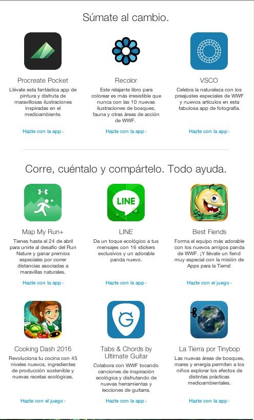 Apps para la tierra