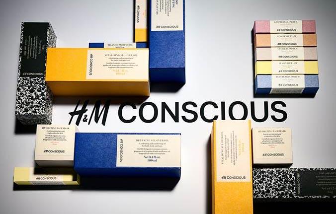 Conscious, belleza Ecocert H&M Beauty