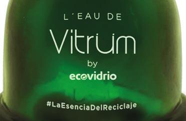 L´Eau de Vitriüm: el perfume que invita a reciclar