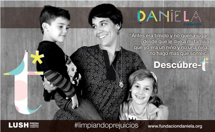 Lush y  Fundación Daniela: en apoyo al derecho a ser