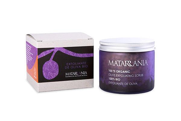Cosmética natural MATARRANIA exfoliante bio