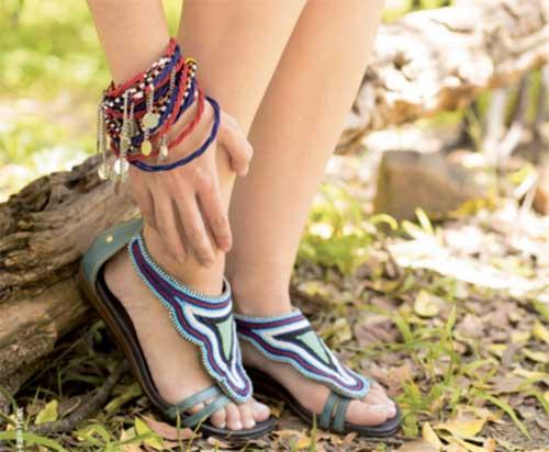 Sandalias del proyecto Masaai de Pikolinos