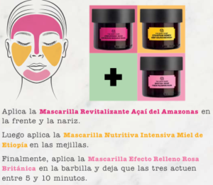 Mascarillas faciales The Body Shop