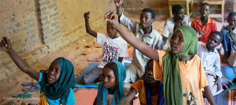 H&M Foundation donará 3,3 millones para la educación de niños refugiados
