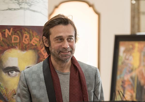 Jordi Mollà y Bulgari, unidos por la solidaridad y el arte