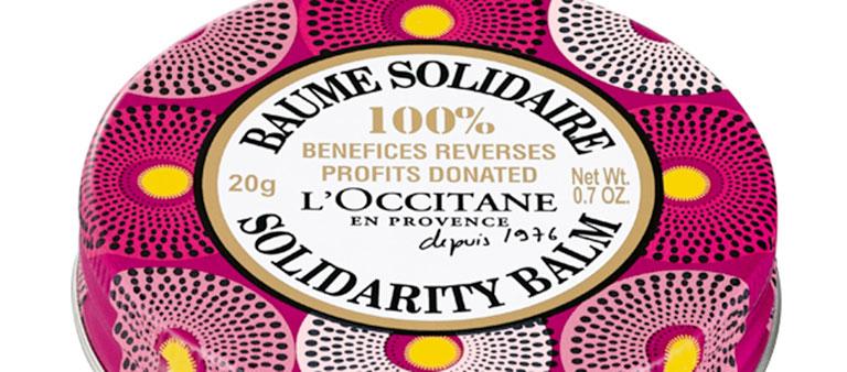 Bálsamo solidario de L'Occitane para la igualdad de la mujer
