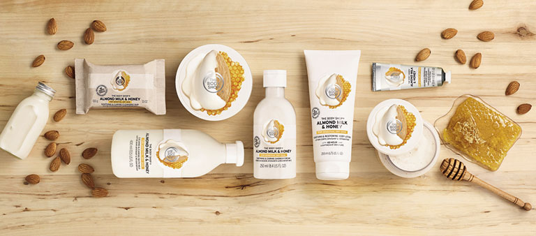 Piel sensible The Body Shop la nueva línea con ingredientes de Comercio Justo