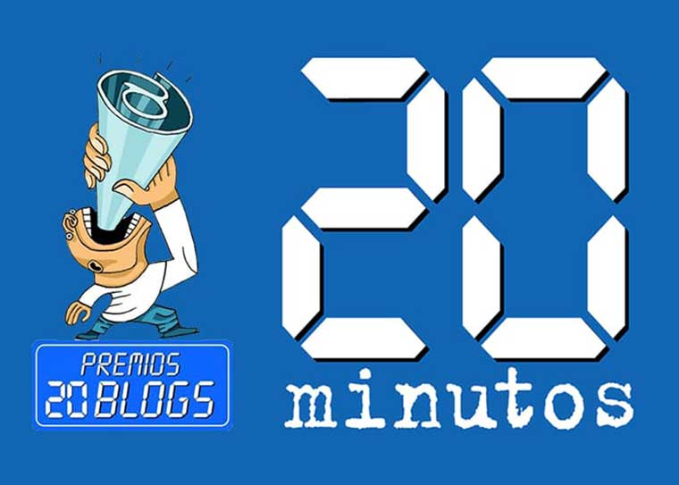 ¡Vótanos como mejor blog solidario! Premios 20 minutos