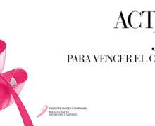 Estée Lauder y sus estrellas rosa contra el cáncer