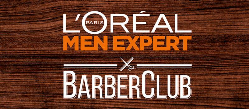 Bigotes solidarios con Barber Club L'Oréal Men Expert